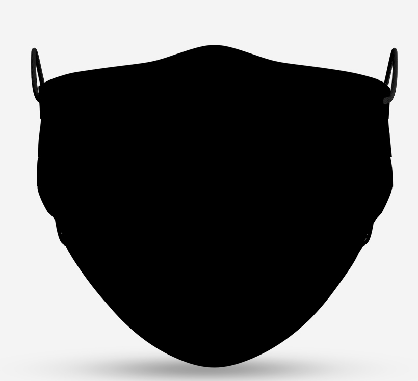 Mascarilla negra UNE0065