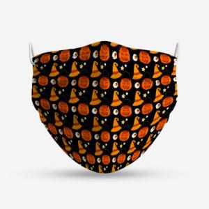 mascarilla infantil hallowen pumpkin